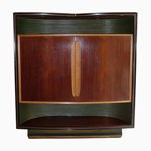 Mid-Century Illuminated Bar Cabinet by Vittorio Dassi