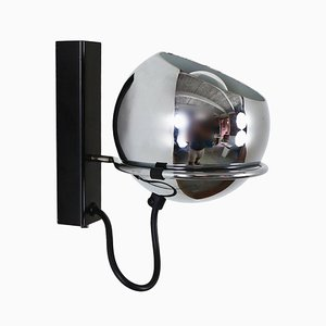 Chrome Eyeball Sconce, 1970s