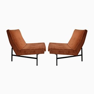 Vintage Model 642 Lounge Chairs by ARP for Steiner, Set of 2