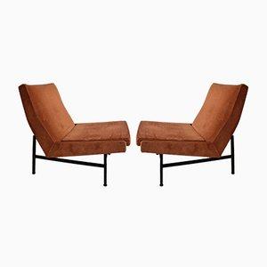 Vintage Modell 642 Sessel von ARP für Steiner, 2er Set