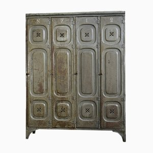 Antique German Factory Locker
