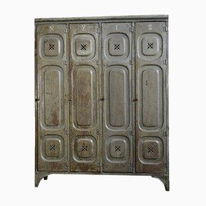Antique German Factory Locker