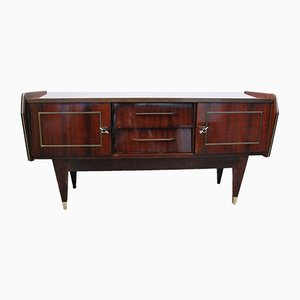 Mid-Century Varnished Wood Sideboard