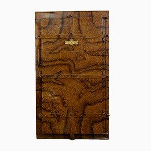 Antique Prussian Fur Coat Cabinet