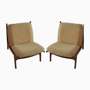 Modell 790 Sessel von Joseph-André Motte für Steiner, 1960er, 2er Set