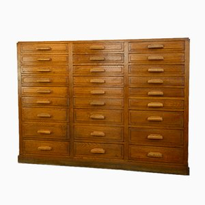 French Oak Jewellers Drawers, 1930s