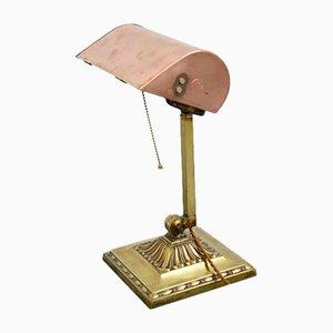 Emeralite NY Schreibtischlampe, 1910er
