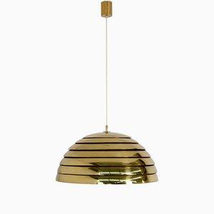 Lámpara colgante de latón de Hans Agne Jakobsson, años 60