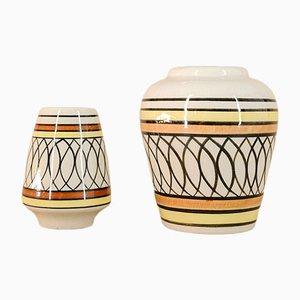 Vases de Isla De La Juventud, 1970s, Set de 2