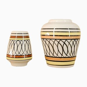 Vases from Isla De La Juventud, 1970s, Set of 2