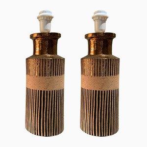 Vintage Tischlampe von Bitossi für Bergboms