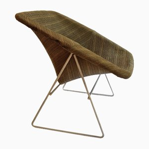 Vintage Corb Lounge Chair by ARP for Steiner, 1956