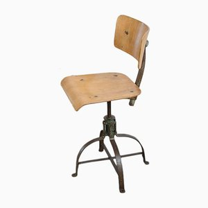 Industrial Chair from Bienaise, 1940s