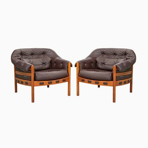 Lounge Chairs by Arne Norell for Coja, 1970s, Set of 2