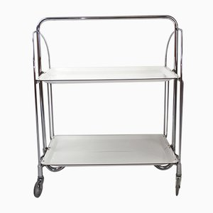 Mid-Century Collapsible Serving Trolley Dinett from Bremshey Solingen, 1960s