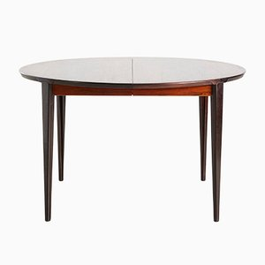 Danish Rosewood Dining Table by Henry Rosengren Hansen, 1960s