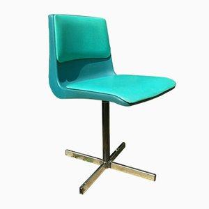 Vintage Drehstuhl aus Stahl von Steelux, 1960er