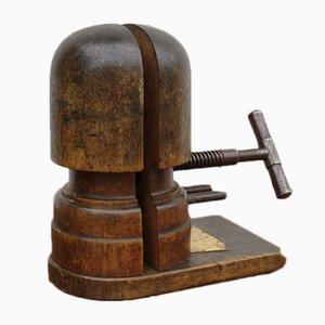 Antique Oak Millinery Hat Stretcher