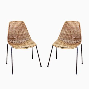Model Basketball Chairs by Gian Franco Legler, 1960s, Set of 2