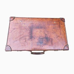 Antiker Koffer aus Leder