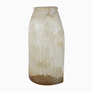 Beige Keramikvase von Wilhelm & Elly Kuch für Wilhelm & Elly Kuch, 1960er