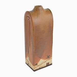Jarrón de cerámica marrón de Wilhelm & Elly Kuch para Wilhelm & Elly Kuch, años 60