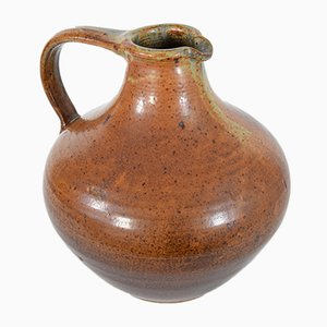 Brown Ceramic Jug by Wilhelm & Elly Kuch for Wilhelm & Elly Kuch, 1960s