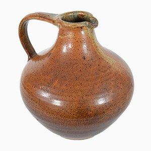 Pichet en Ceramique Marron par Wilhelm & Elly Kuch pour Wilhelm & Elly Kuch, 1960s