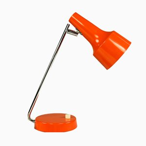 Orange & Chrome Table Lamp from Cosack, 1970s