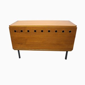 Small Vintage Teak Sideboard by Günter Renkel for Rego