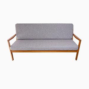 Sofá de tres plazas Senator de teca de Ole Wanscher para Peter Jeppesen, años 60