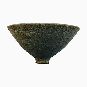 Textured Blue Bowl, 1980s