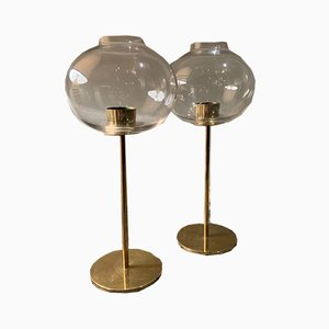 Candleholders by Hans Agne Jakobsson, 1960s, Set of 2