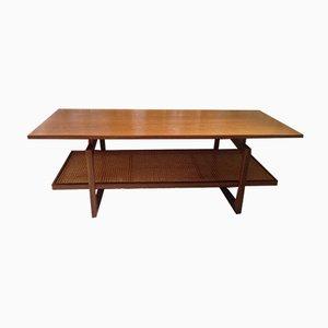 Table Basse en Osier par Victor Wilkins pour G-Plan, 1960s