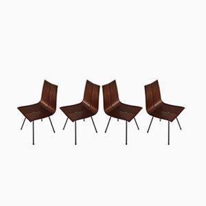 Vintage Modell GA Esszimmerstühle von Hans Bellmann für Horgenglarus, 4er Set