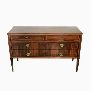 Vintage Italian Rosewood Commode by Paolo Buffa for La Permanente Mobili Cantù, 1950s