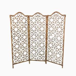 Italienischer Vintage Raumteiler aus Bambus, 1960er