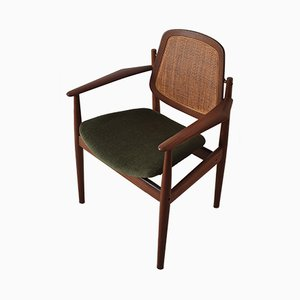 Vintage FD-186 Lounge Chair by Arne Vodder for France & Søn