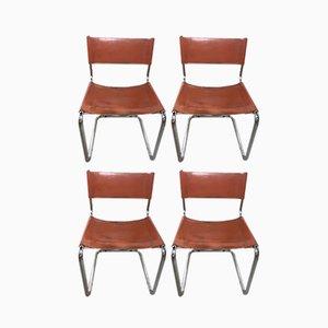 Esszimmerstühle von Marcel Breuer, 1970er, 4er Set