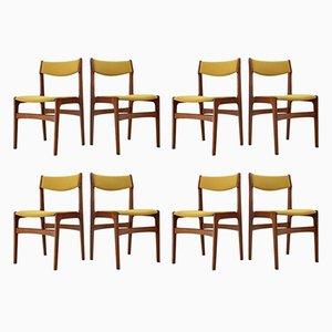 Dänische Esszimmerstühle aus Teak , 1960er, 6er Set
