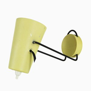 Small Yellow Sconce, 1950s