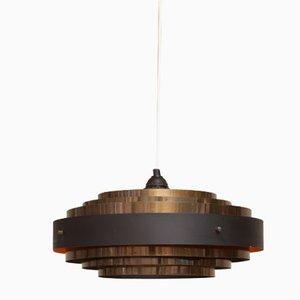 Lámpara de techo danesa vintage de Jo Hammerborg para Fog & Mørup