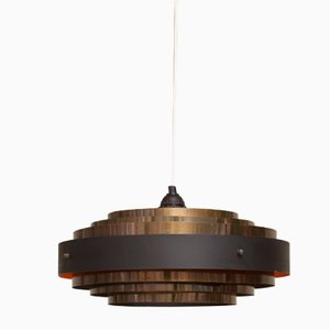 Vintage Danish Ceiling Lamp by Jo Hammerborg for Fog & Mørup