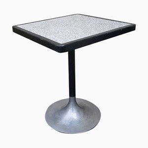 Formica & Aluminum Tulip Bistro Table, 1970s