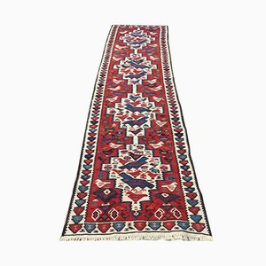 Vintage Turkish Wool Kilim Runner, 1960s