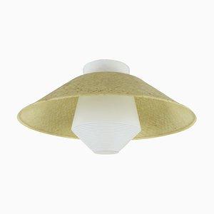 Lampada da soffitto in stile Art Déco di Louis C. Kalff per Philips, anni '50