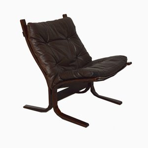 Rosewood Siesta Lounge Chair by Ingmar Relling for Westnofa, 1965