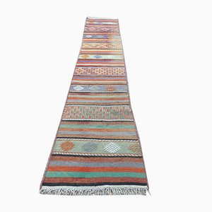 Vintage Turkish Narrow Kilim Runner, 1970s