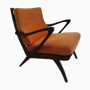 Scandinavian Armchair from Knoll Antimott, 1960s
