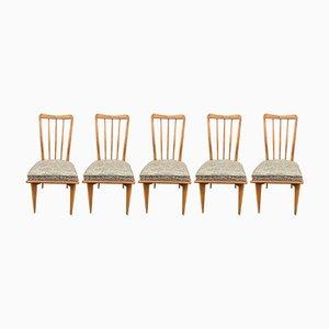 Chaises de Salle à Manger par Charles Ramos, 1950s, Set de 5